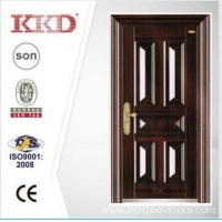 Cheap 2014 New Design Security Steel Door KKD-106 With New Pait Main Door Made In China for sale