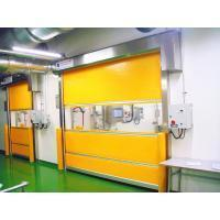 2.0mm Stainless Steel Frame Electric High Speed Doors With English Man-Machine Interface