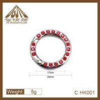 Fashion high quality 25mm nickel plated spring rings