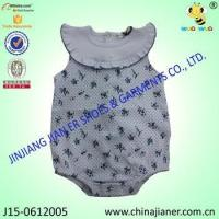 girl baby bodysuit with sleeveless baby cute and sweet clothing