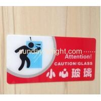 Cheap 2016 fashion design high quality acrylic warning sign holders wall mount HCK-030 for sale