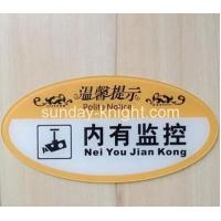 Cheap Wall mounted acrylic sign holder board HCK-032 for sale