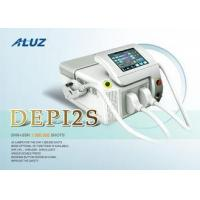Cheap Permanent Hair Reduction System For Face / OPT + SHR Hair Removal Equipment for sale