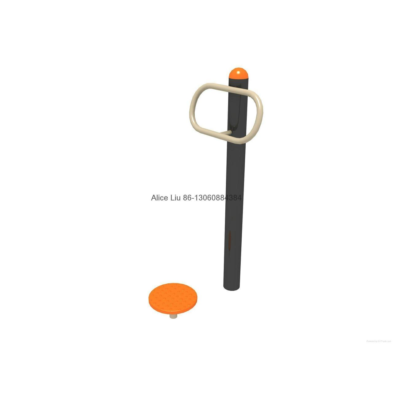 Cheap Single Waister playground outdoor fitness equipment for sale
