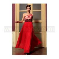 Red sexy long formal evening dress cocktail party dress manufactures