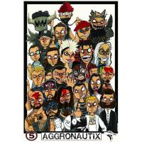 Cheap Aggronautix 5-Year 11 x 17 Print (2014) for sale