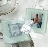 Cheap Forever Photo Frosted Glass Coasters(2pcs/set) for sale