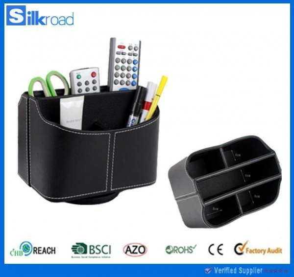 Quality PU leather sets pu remote control holder wholesale