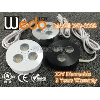 Cheap WD-300A 12V 3W LED Cabinet Light / LED Puck Light with CE cUL UL Certified for sale