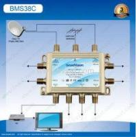 Cheap Sheet metal+plastic stand-alone satellite multiswitch 3/8 in small project for sale