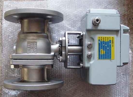 Electric Operated Ball Valve Q941 With Certificate Of