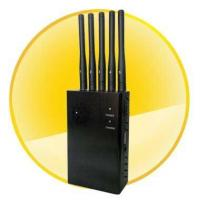 8 Bands 868MHz Jammer - Powerful Golden Portable Cell Phone Wifi GPS Multifunctional Signal Jammer