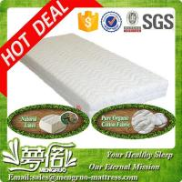 Cheap sweet dream 7 zone 100% natural latex mattresses for sale