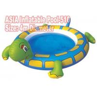 Cheap Sea Turtle Inflatable Pool 4m Diameter for sale