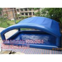 Large Inflatable Rectangular Pool Tent for Business Rentals