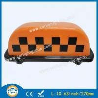 Cheap Orange Taxi Top Sign for sale