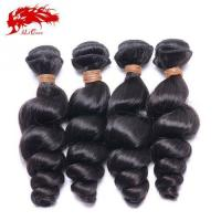 Cheap Ali Queen 4pcs Unprocessed India Loose Wave Natural Color Cheap Real Hair Extensions Free Shipping for sale