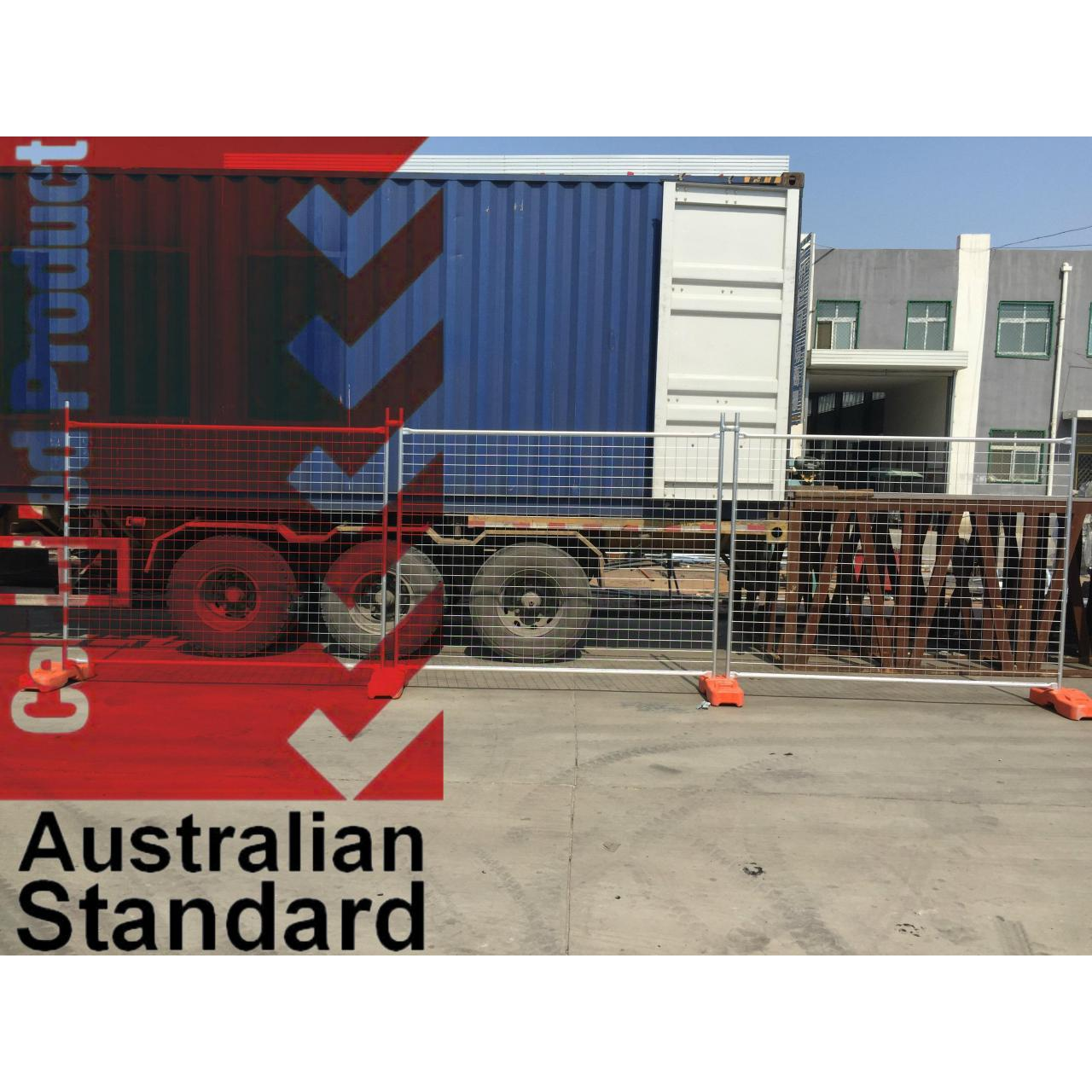 Cheap Economic Temporary Fence For Sales Business -17 Microns Zinc Layer HDG before Weld for sale