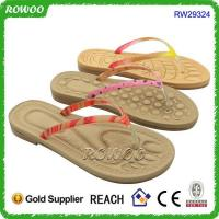 Cheap Rope Shape Promotional Beach Slipper(RW29324)
