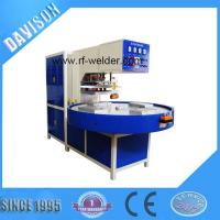 12KW 4 Stations Automatic Turntable Radio Frequency PVC Blister Packaging Machine
