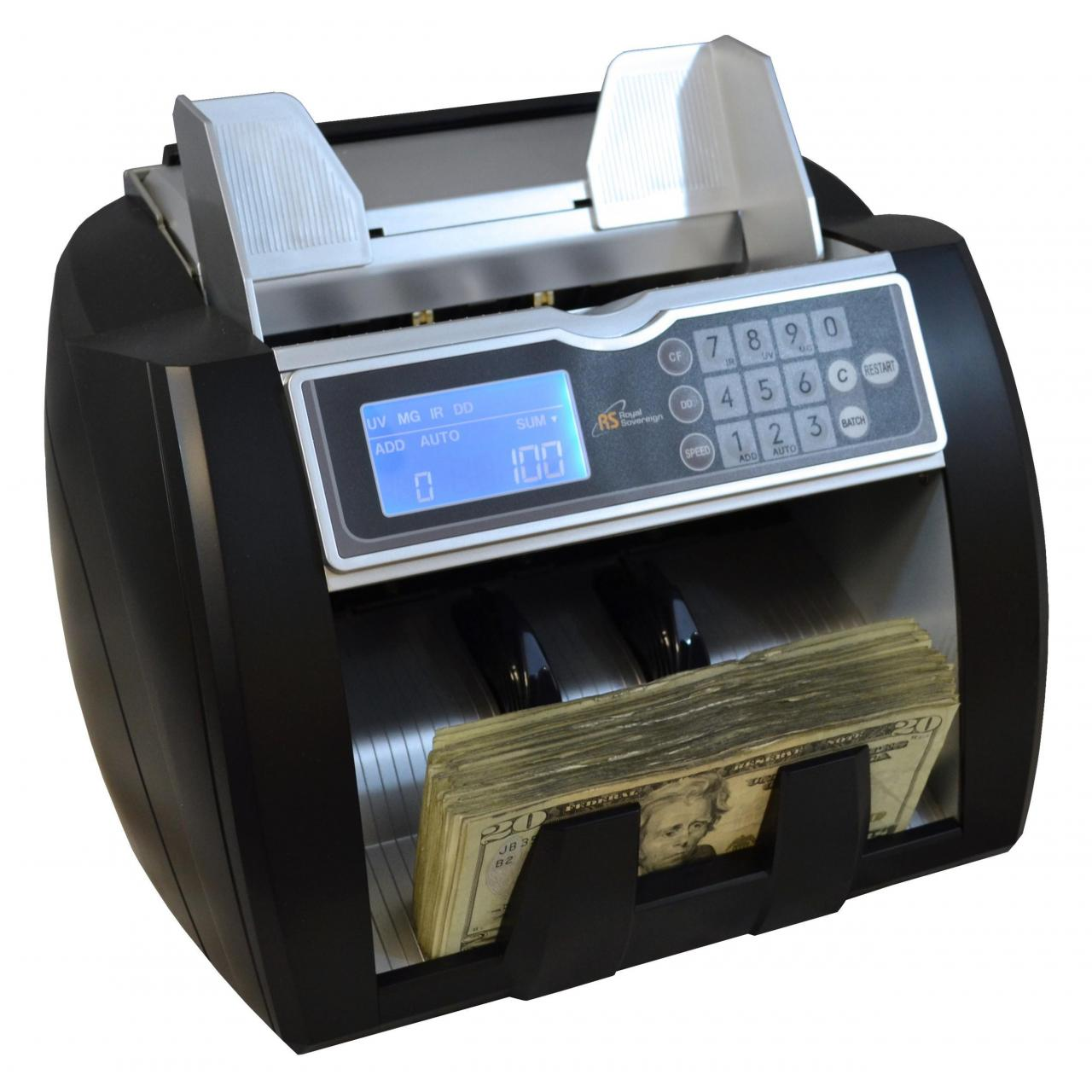 China RBC-5000 High Speed Bill Counter with Counterfeit Detection on sale