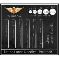 Tattoo Loose Needles - Polished Manufactures