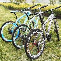 Cheap Leopard-print three colors MTB more colors are available for sale