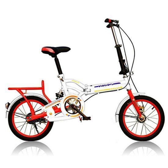 Quality DIY mixed colours 16 20 bright colours folding bike for women wholesale