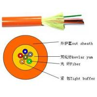 Cheap Distribution tight buffer optical cable(GJFJV) for sale
