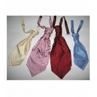 Cheap Ties Silk Dupion Pre tied Cravats for sale