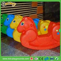 Cheap Classic Horse Shape Plastic Rider Rocking Toy for sale