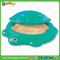 Cheap Sea Turtle Kids Outdoor Plastic Sand And Water Pond for sale
