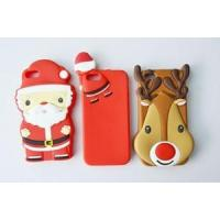 Cheap Promotional gift candy color Christmas iphone 6 case with OEM design for sale