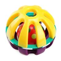 Cheap silicone infant baby toy pacifying hand grabbing ball toy for sale