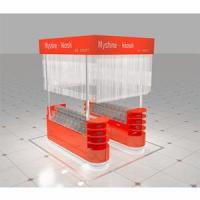 shopping mall display candy bulk and candy showcase candy box for kiosk
