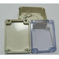 Cheap Plastic injection parts ABS sealed plastic waterproof enclosure for sale