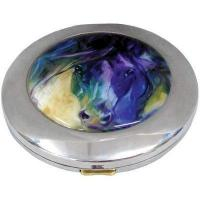 Compact with Blue Roan Artwork Manufactures