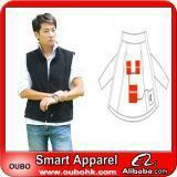 Apparel Fashion Waistcoat For Men Design with electric heating system heated clothing warm OUBOHK Manufactures