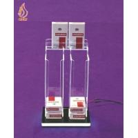 Counter LED Acrylic Cigarette Display Dispenser