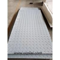 gray color HDPE ground protection mat