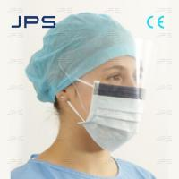 Cheap Disposable Face Mask with Eye Shield for sale