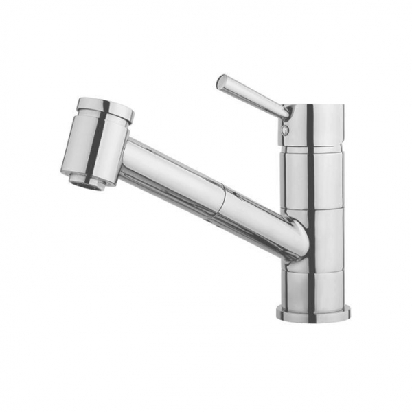 Designers Classic Single Hole Pull Out Spray Kitchen Faucet Taps For Kitchen