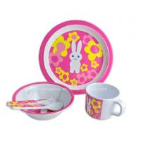 Cheap 5PCS Kids Melamine Meal Set for sale