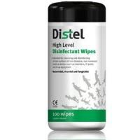 Cheap Distel High Level Surface Disinfectant Wipes (x100) for sale