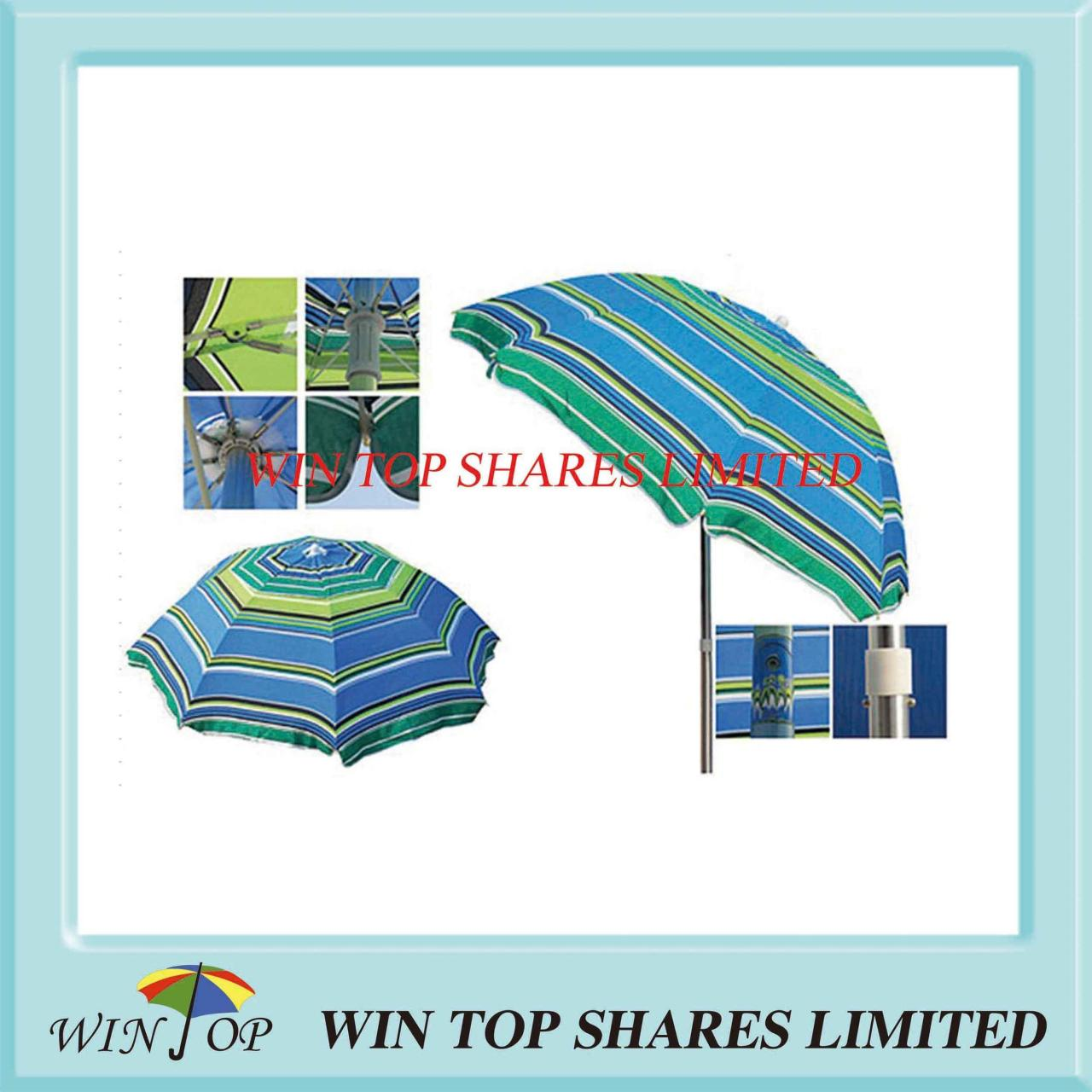 Buy cheap Fashion and Strong Beach Umbrella with Tilt from wholesalers