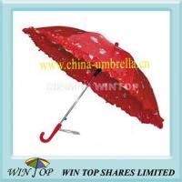 "Cheap 15.5"" Printed Lace Kid Umbrella for sale"