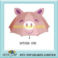 Cheap Pink Color Pig Umbrella Factory for sale