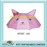 "Cheap 18"" Manual New Kitty Cat Umbrella for sale"
