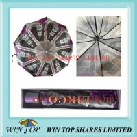 Buy cheap Super cool hot transfer Auto open close Umbrella from wholesalers