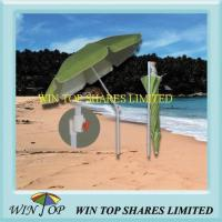 Buy cheap Special Plastic Tilt Beach Umbrella for Outdoor from wholesalers